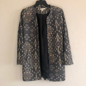 Patterned H&M blazer